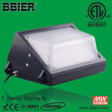 IP65 60 Watt LED Wall Pack Lamp voor Outdoor Parkeerterrein Lighting