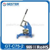 La macchina di tessile del tessuto Mano-Preme la taglierina del campione (GT-C75-2)