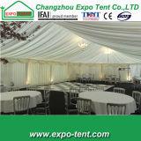 Großes Aluminiumpartei-Zelt mit Glaswänden