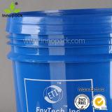 4 напечатанное галлонами промышленное ведро ведерка Pacgkaging пластичное контейнер 16 литров для жидкости