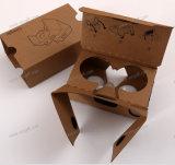 Vidrios video virtuales de Vr del receptor de cabeza de la cartulina 3D de Google de la realidad