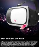 Nuevos vidrios al por mayor de la realidad virtual del rectángulo 3D de Vr de los vidrios de Vr 3D con el regulador de Bluetooth