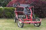 Велосипед велосипеда крейсера пляжа тандемный путешествуя Bike колес велосипеда 4