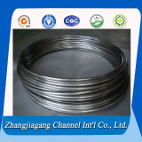 bobina del aislante de tubo del acero inoxidable de 6.35m m