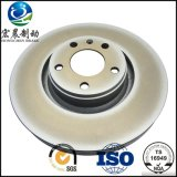 Mercedes ISO9001를 위한 OEM Brake Rotor Vented Fit