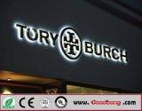 Qualitäts-Chrom-Acryl-LED geleuchtete Kanal-Zeichen-Zeichen