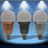 Luz esperta, 7.5W, bulbo do diodo emissor de luz do RGB