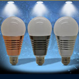 Luz elegante, 7.5W, bulbo del RGB LED