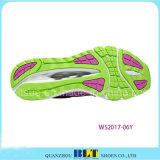 Zapatos atléticos de las mujeres del calzado en línea