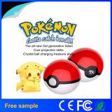 세대 Pikachu 새로운 최신 제 3 투상 Pokemon는 은행 3 충전기 두 배 USB 포트에서 힘 간다