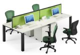 Sitio de trabajo moderno del cubículo de la partición de la oficina de 3 asientos (SZ-WST657)
