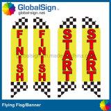 de Volledige Kleur Afgedrukte Vliegende Banners van 4.5m voor Sportieve Gebeurtenissen