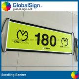 Drapeaux tenus dans la main encourageants de défilement de ventilateur (GHSC-L)