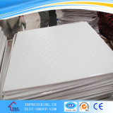 Comitato di soffitto del gesso del PVC delle mattonelle 603*603*7mm/Performated del soffitto del gesso delle mattonelle/vinile del soffitto del gesso del PVC