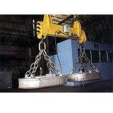 Магнит металлолома поднимаясь для стальной фабрики