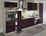 Customzied Wood Cabinet Kitchen Cabinets (alti lucidi)