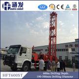 地質調査(HFT600ST)のための600の深さトラックによって取付けられる水掘削装置