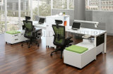 Furniture comercial Partition Modern Office Workstation para 4 Person (SZ-WST725)