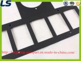 Auto frame de aço de placa de licença da porta traseira para o Wrangler Jk do jipe