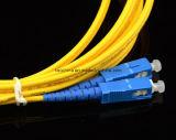 Sc-Sc cordon de connexion de fibre optique du SM Dx 2.0mm G652D
