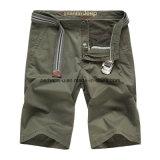 I pantaloni casuali del Mens del cotone di alta qualità mettono i pantaloni in cortocircuito della spiaggia