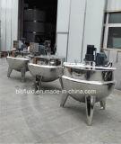 Caldera del vapor de 500 litros/mezclador de cocinar vestidos de la caldera de la cocción al vapor