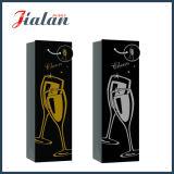 Heiße stempelnde Wein-Flaschen-verpackeneinkaufen-Träger-Papier-Geschenk-Beutel