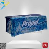 Printed su ordinazione Polyester Table Cloth Cover per Exhibition (fornitore su ordinazione)