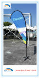 Wholesales Cross Base Beach Teardrop Flag Bandeira de propaganda voadora