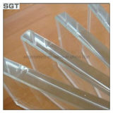 10mm 12mm Toughened Low Iron Glass pour Glass Fencing