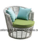 競争の新しいデザイン屋外のテラスの庭の家具の藤のソファーは3seat (YT612)によってセットした