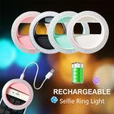 Linterna recargable del anillo del USB Selfie de la alta calidad del producto más nuevo
