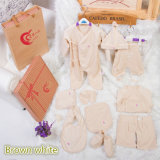 10PCS美しいデザインのギフトのための有機性綿の赤ん坊の衣服中国製
