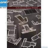 Ligne en acier d'extrusion de profil de PVC Plast-