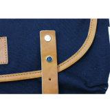 Diseños del encierro de la solapa del azul de marina de los bolsos de totalizador para las colecciones del Mens y de las mujeres de bolsos