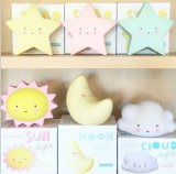 Sun Moon Star Cloud Kids Nursery Night Light com etiqueta Pivate