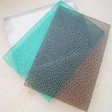 스카이라이트를 위한 폴리탄산염 색깔 장에 의하여 돋을새김되는 플라스틱 장