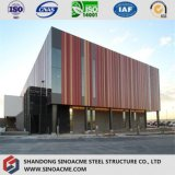 Modern Steel Structure Exhibition Building with Gallery