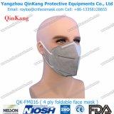 Respirador de partículas del polvo Plegable-Plano N95 y mascarilla protectora del polvo