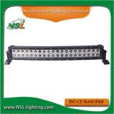 20 인치 LED 차 LED 120W LED 플러드 빛 구부려진 표시등 막대를 위한 결합 표시등 막대 LED 모는 표시등 막대 작동 빛