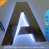 Muestra de Oppo del moldeo a presión de la carta de canal del LED