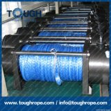 Synthétique bleu de corde du treuil 4X4 de la couleur 7mmx30m pour le treuil d'ATV/UTV