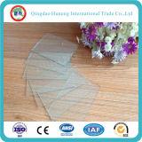 Delgada Tipo Hoja de vidrio con CE, certificado de SGS ISO