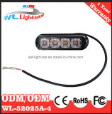 4W LED 스트로브 경고등 표면 마운트