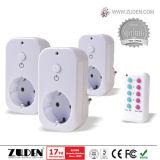 Interruttore senza fili dello zoccolo di potere di telecomando per automazione domestica