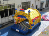 Opblaasbaar Bouncy Huis, Springende Uitsmijter, Kasteel Bouncy