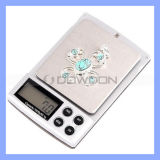 escala portátil do bolso da jóia da escala da cozinha de 2kg x de 0.1g Digitas