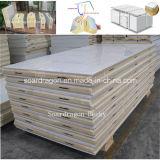 Kundenspezifischer Entwurf gekühlter Raum mit Polyurethan-Panels und Scharnier-Türen