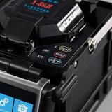 Encoladora de fibra óptica óptica automática de la fusión de la máquina de fibra de Shinho que empalma X86h Sm&mm FTTH