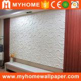 Panneau de mur 3D gravé en relief par décoration de mur intérieur de salle de séjour de plafond de Hall